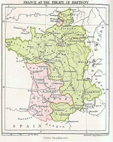 Political - Treaty of Brétigny