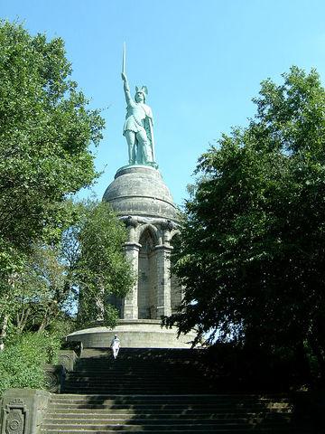 Batalla del bosc de Teutoburg.