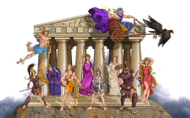 Religión de Grecia