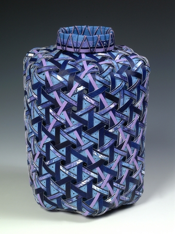 Jackie Abrams   Brattleboro, VT   Baskets! Paper! Color! Hexagonal Weave Baskets