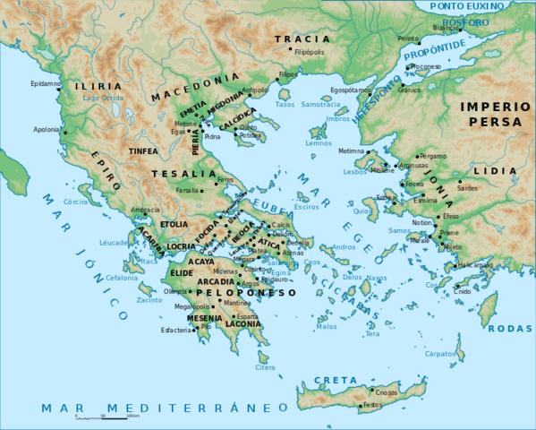 Ubicación Griega