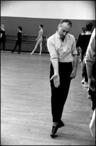 George Balanchine:  Coreógrafo de los Ballet Russes