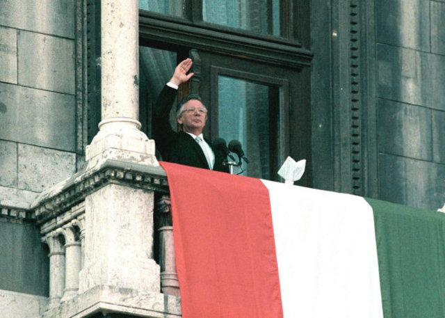 A harmadik Magyar Köztársaság kikiáltása