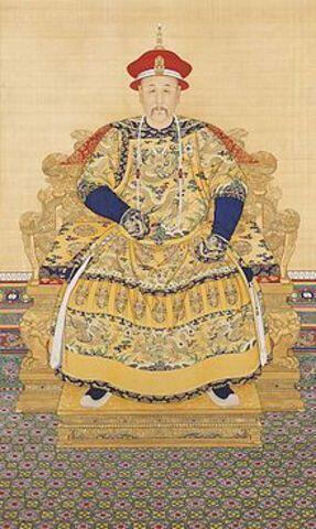 China: Yongzheng emperor