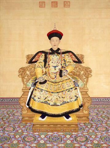 China: Qianlong emperor