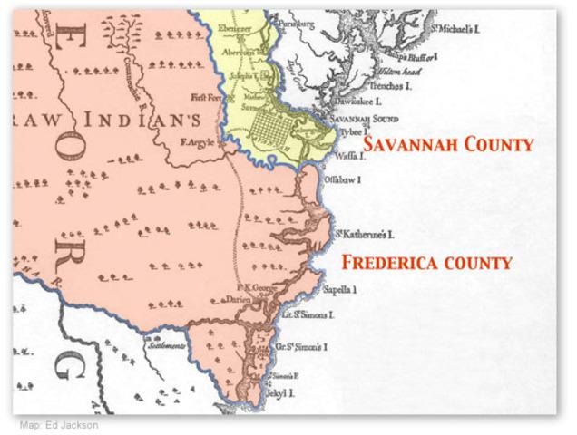 GA: Savannah and Frederica
