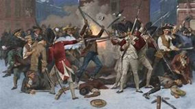 "US: ""The Boston Massacre"""