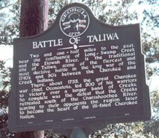 GA: The Battle of Taliwa