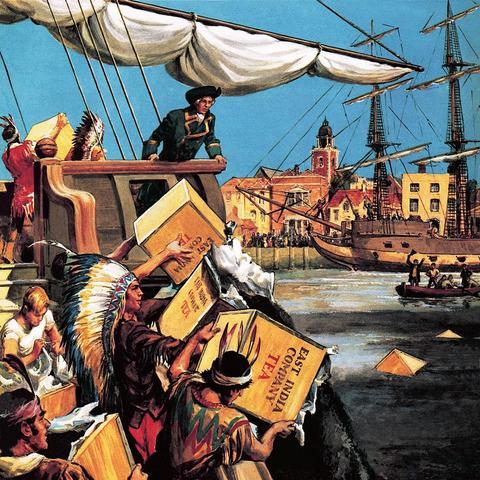 US: The Boston Tea Party