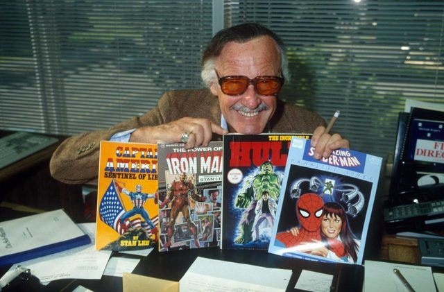 Se volvió famoso y jefe de Marvel.