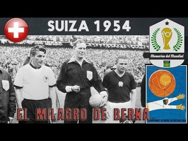 MUNDIAL 1954 - SUIZA