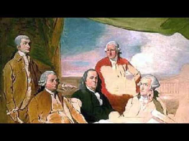 US: The American Revolutionary War officially ends