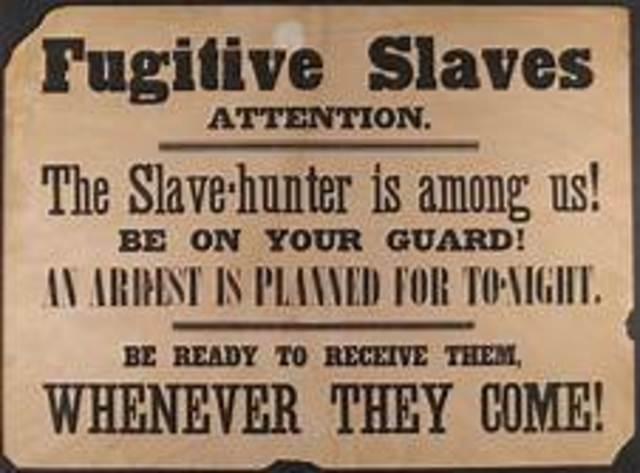 US: Fugitive Slave Act passed