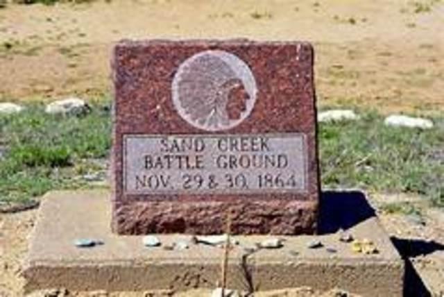 US: Sand Creek Massacre