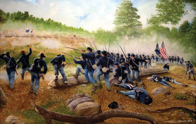 GA: Civil War battles occurred in Georgia