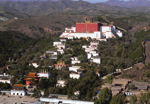 China: The Putuo Zongcheng Temple was completed