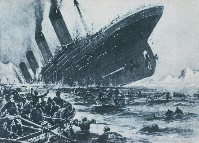 US: Titanic sinks