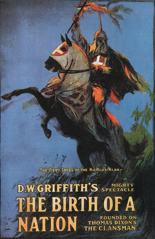 US: The Birth of a Nation movie directed by D.W. Griffith opens