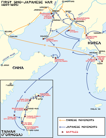 China: First Sino-Japanese War