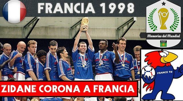 MUNDIAL 1998 - FRANCIA