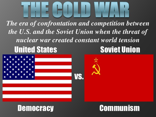 US: The Cold War began between the United States and the Soviet Union