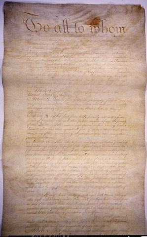 GA: The first Constitution