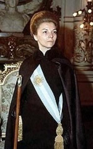 Maria Estela Martinez de Peron