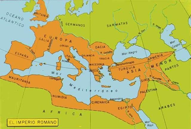 ubicación Roma