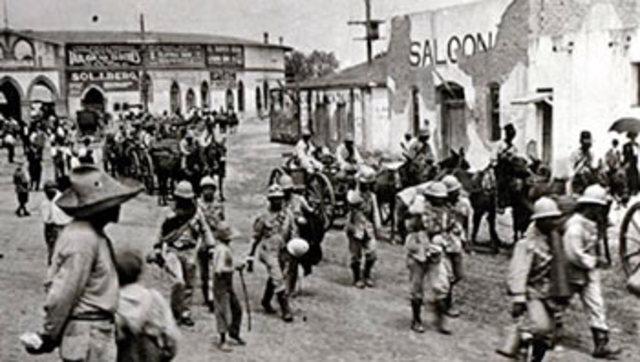 Toma de la ciudad Juárez