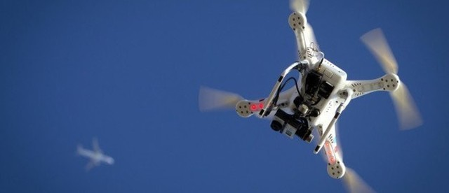 drones que detectan y evitan