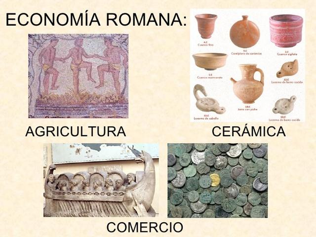 ECONOMIA ROMA