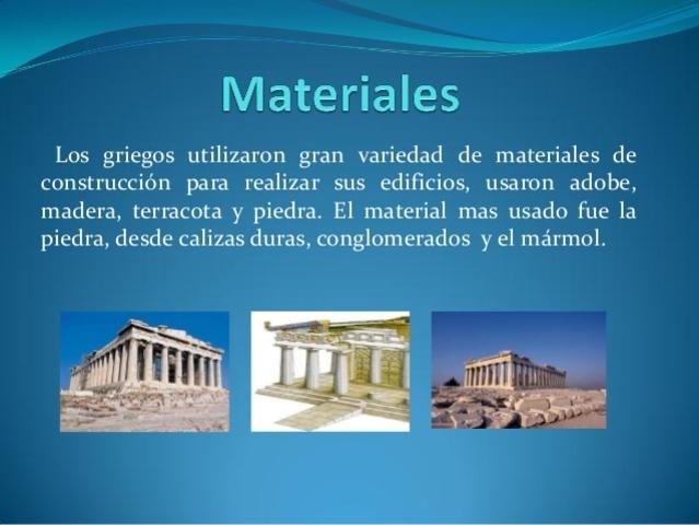 MATERIALES GRECIA