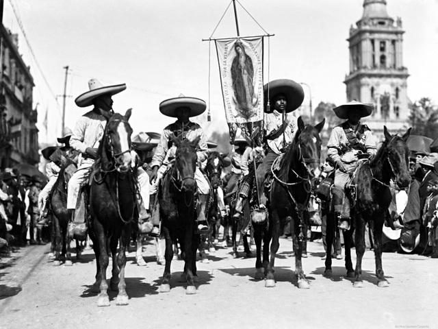 Entrada a la ciudad de México