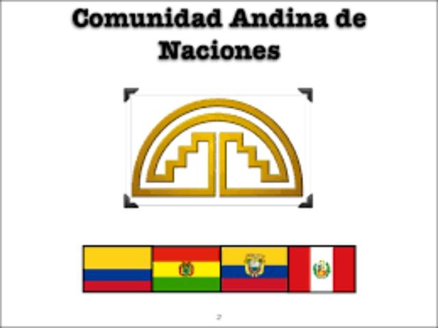 Acuerdo Vigente de Colombia: Comunidad Andina