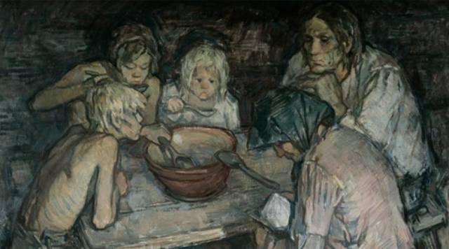 Голод среди крестьян Московской губерни
