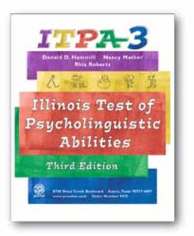 Illinois Test of Psycholinguistic Abilities (ITPA)