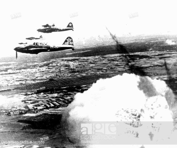 Air Raid upon the camp