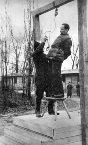 Hanging of the theif
