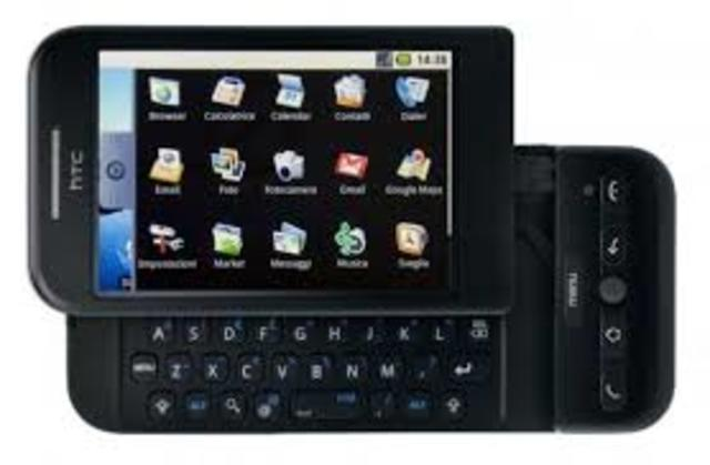 HTC Dream slider smartphone