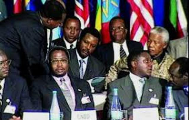 Signing of the Arusha Accords