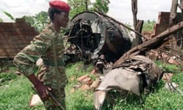 President Habyarimana's Plane is Shot Down