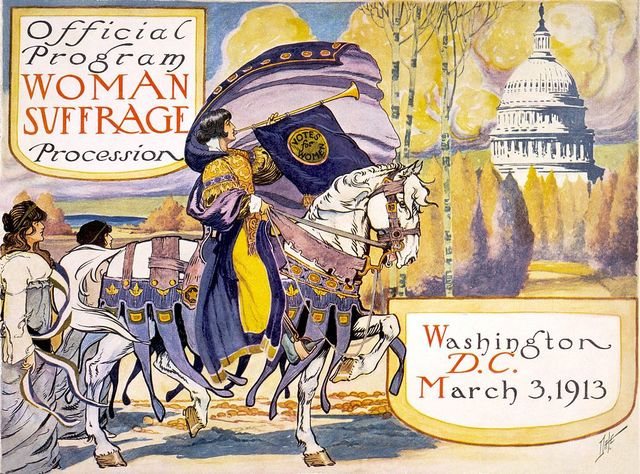 Official Program Woman Suffrage Procession