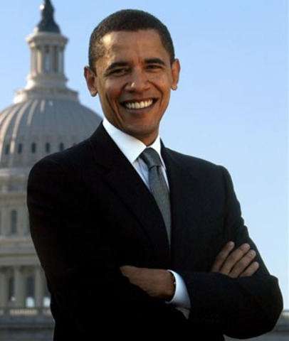Barack Obama becomes the first African American president