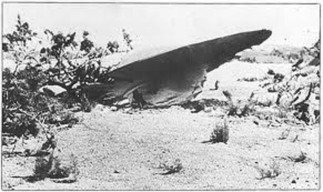 UFO Crash in Roswell, New Mexico