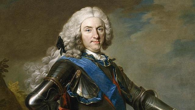 Llega Felipe V al trono
