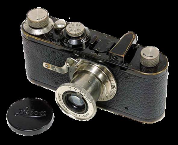 Primera Leica, amb pel·lícula de 35mm