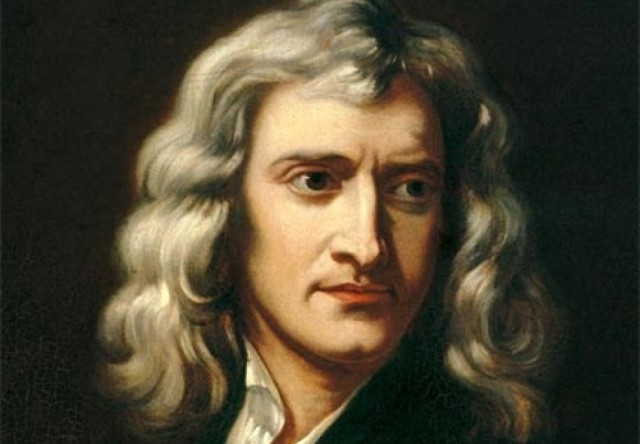 Mort d'Isaac Newton