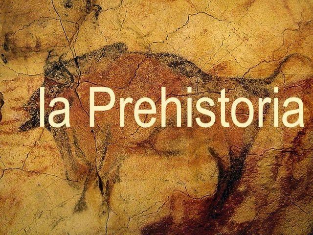 Datos característicos de la Prehistoria