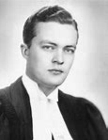 Jean Lesage devient premier Ministre