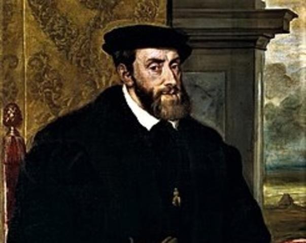Llega Carlos I a España (Carlos V de Alemania)